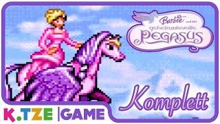 Let's Play Barbie und der geheimnisvolle Pegasus 💜 Ganzer Film als Spiel auf Deutsch | Komplett
