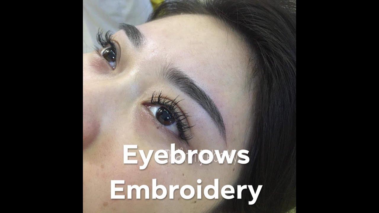 Eyebrows Embroidery – Điêu khắc Chân Mày như thế nào?