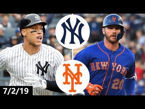 New York Yankees vs New York Mets Highlights | July 2, 2019