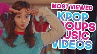«TOP 40» MOST VIEWED KPOP GROUPS MUSIC VIDEOS OF 2017 (December Final Week)
