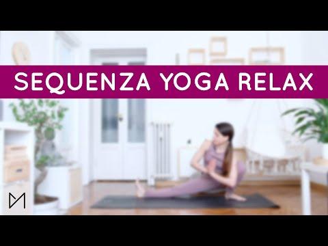 SEQUENZA YOGA RELAX   #yogawithmarti