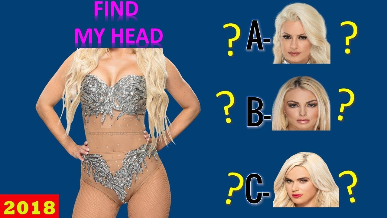 WWE QUIZ - Only True WWE Fans Can Find WWE DIVAS HEAD! [HD]