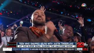Selfie Kid Steals Justin Timberlake's Show