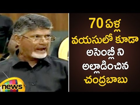 Chandrababu Naidu Wears Black Shirt To Protest Against Centre | AP Assembly 2019 | Mango News