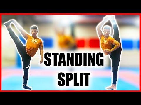 STANDING SPLIT| Flexibility Tutorial