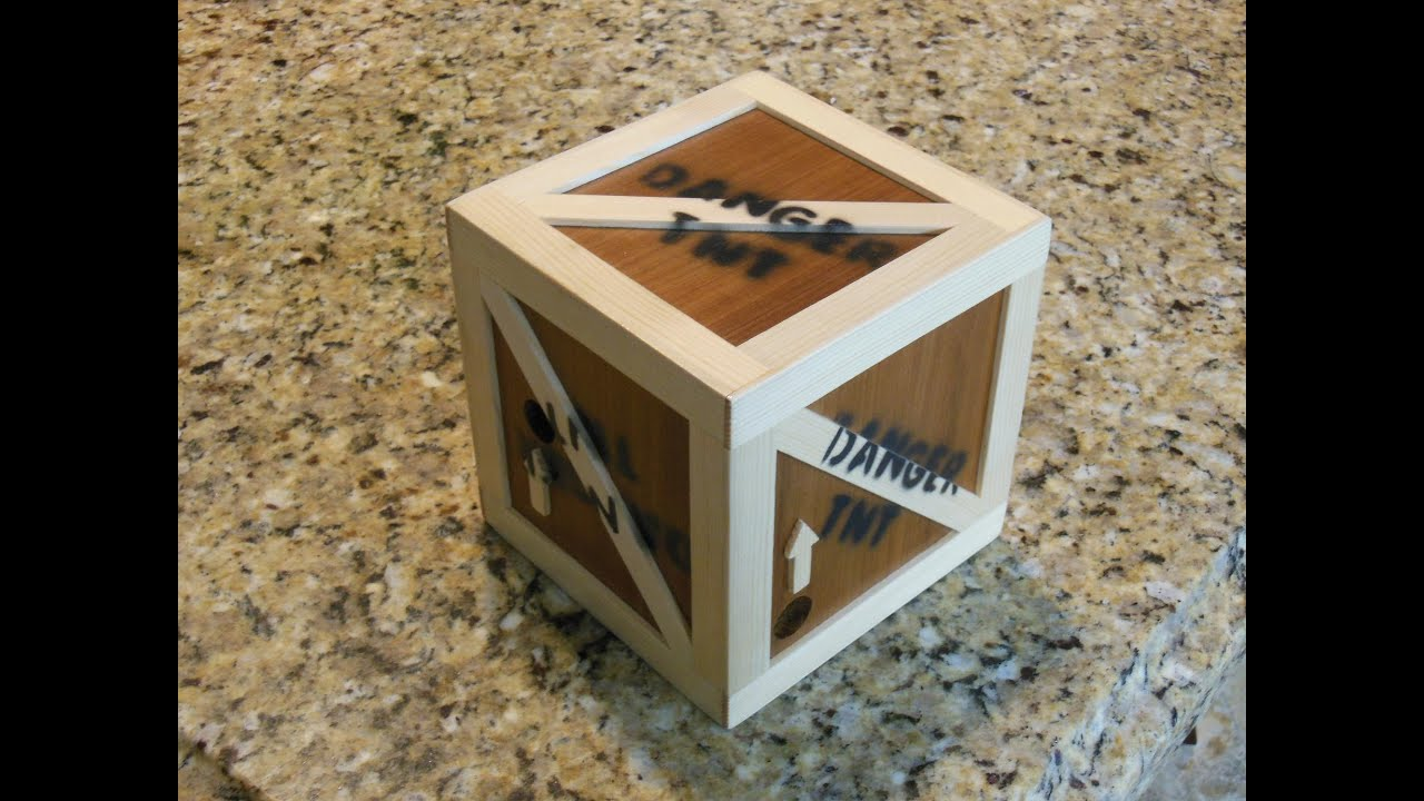 Make A 3d Marble Maze The Scrap Bin Challenge Youtube