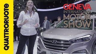 Hyundai Tucson, anche Volkswagen la invidia! | Salone di Ginevra 2015