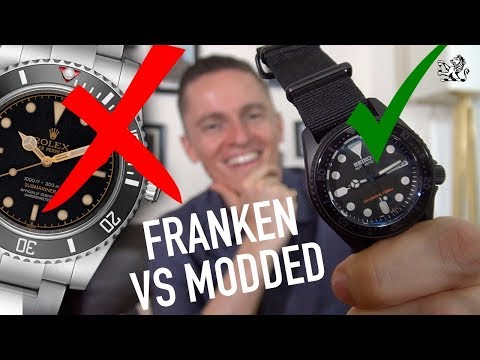 AVOID A SCAM! - Franken Watch Vs Modded - What You Should Know GIAJ#8