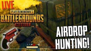 PUBG MOBILE | AIRDROP HUNTING :) Only Chicken Dinner..... #GUNSLINGER ...