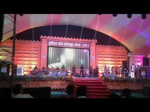Kumar sanu program in sonpur Mela bihar