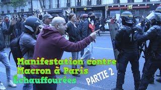 Manifestation contre Macron dégénère à Paris - Partie 2