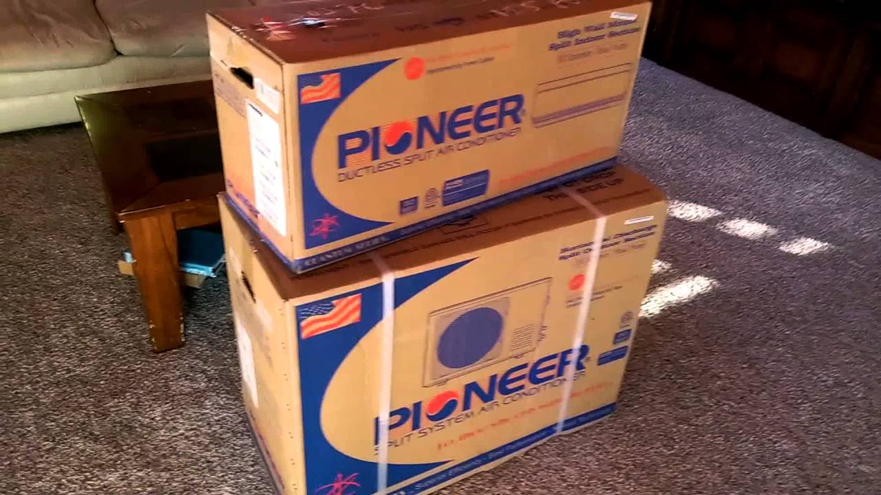 Pioneer Mini Split 9000 Btu 15 Seer 110v Air Conditioner