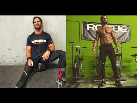 Seth Rollins training CrossFit 2016