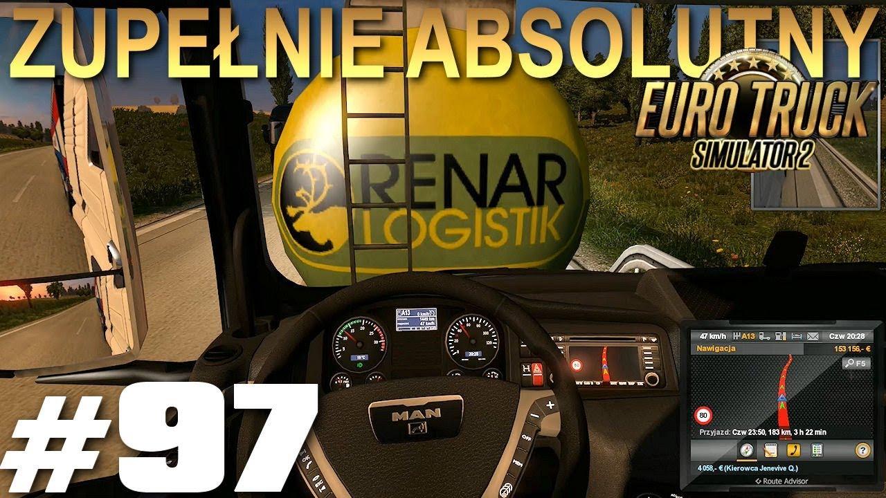 Euro Truck Simulator 2 - #97 - Poważna stłuczka - Strasburg-Frankfurt-Norymberga