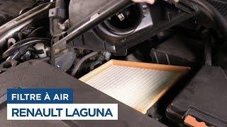 Renault Laguna - Changer le Filtre à Air