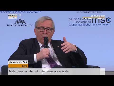 Rede von Jean-Claude Juncker bei der 54. Münchner Sicherheitskonferenz vom 17.02.2018