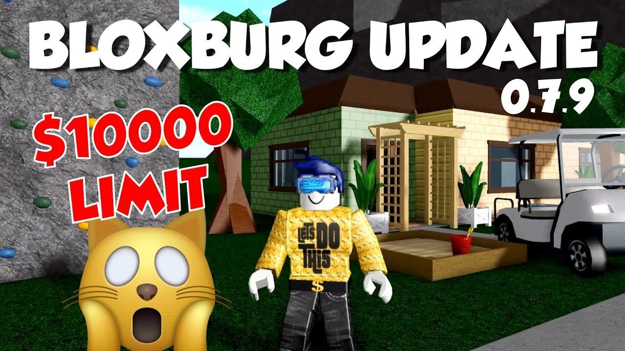 **NEW** BLOXBURG UPDATE 0 7 9 - GOLF CART, CLIMBING WALLS AND PLAYGROUND