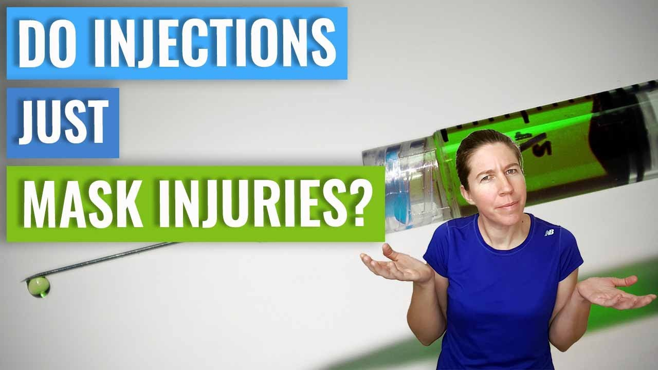 Do Injections Just Mask Injuries?