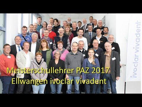 Meister-PAZ 2017 bei ivoclar vivadent