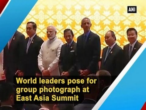 World leaders pose for group photograph at East Asia Summit - ANI News