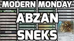 Modern Monday: Abzan Sneks (Match 1)