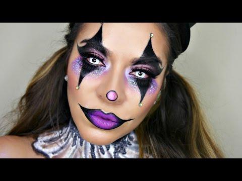 Sexy Glam Circus Clown Makeup Tutorial