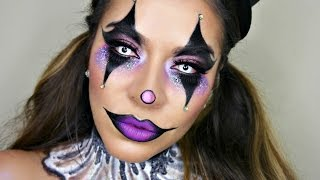 Sexy Glam Circus Clown Makeup Tutorial | Halloween Makeup