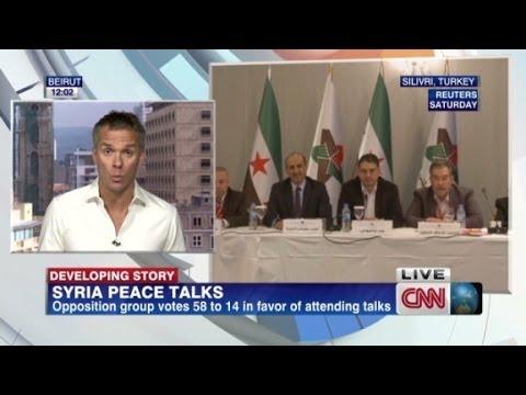 Main Syrian opposition group to attend Geneva peace talks