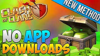 Easiest Way to Get FREE Gems - Clash of Clans International! NO APP DOWNLOADING! NEW METHOD