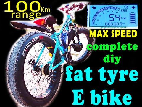DIY   HYBRID BICYCLE   ELECTRIC BIKE   FAT BOY thumbnail