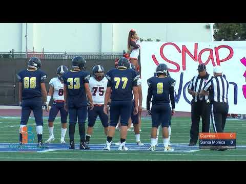Cypress vs Santa Monica Varsity Football 2017