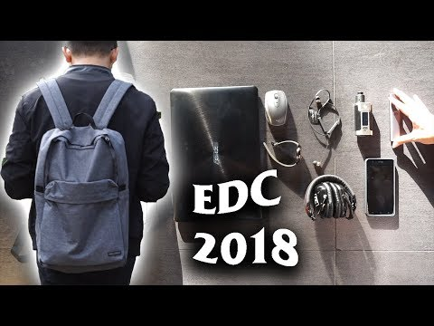 "My Everyday Carry Early 2018 | Rizky ""Nerd"" Ramadhani Edition"