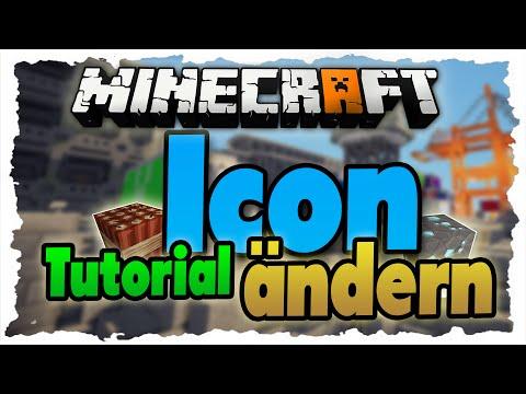 Minecraft ICON ändern - Tutorial - Eigenes Minecraft-Icon Festlegen!