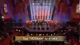 """Under the Streetlamp Performs """"Jersey Boys"""" Medley on the Military Channel for Homeward Bound"""