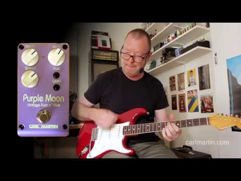 Carl Martin: Purple Moon-2019 Vintage Fuzz n' Vibe