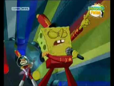 Spongebob Sing Not Gonna Die by Skillet