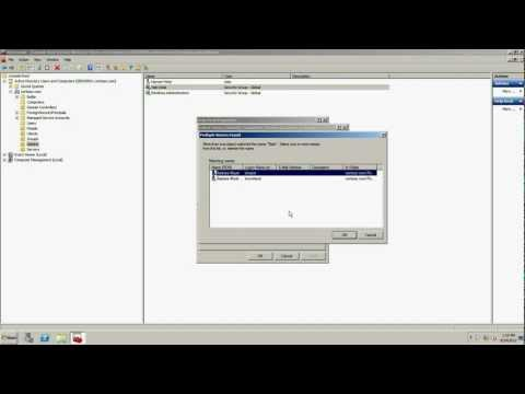 Add Users And Computers To Groups Windows Server 2008 R2