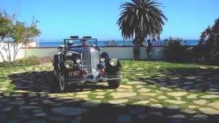 Vintage Pierce Arrow Automobile @ The Adamson House, Malibu, CA