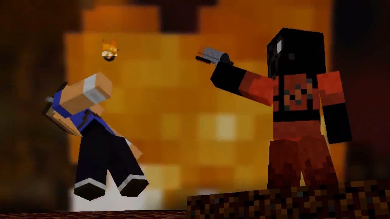 Meet The Pyro In Minecraft Youtube