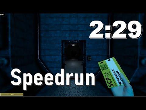 The Fastest Scientist Speedrun? (2:29) (SCP : SL)