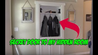 Secret Bookcase Door Passage to your HIDDEN ROOM !!!