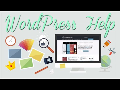 WordPress Help - 동영상