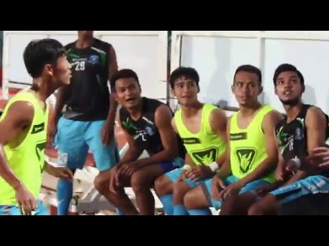 ฝึกทักษะก่อนแข่ง PHUKET FC 2016