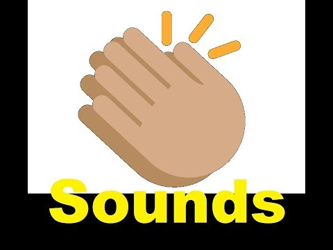 Clapping Sound Effects All Sounds