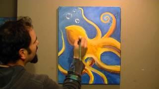 The Loaded Brush Joe Riso painting