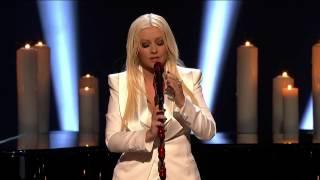 Christina Aguilera - Blank Page (People's Choice Awards 2013)