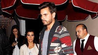 Kourtney Kardashian And Scott Disick Enjoy Romantic Pre-Valentine