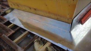Comment faire : Pliage du zinc toiture, chevêtre, noue, solin, et autre……