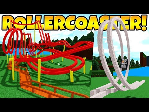 HOW TO BUILD A ROLLER COASTER! Pt.1 Build A Boat