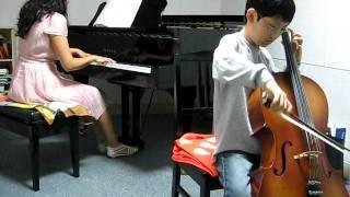 Sunoo plays Seitz concerto No.5 1st Mov. (cello).